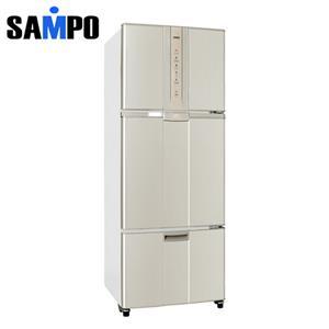 SAMPO 聲寶 455L 變頻一級節能三門冰箱 SRN46DV(Y2) 炫麥金