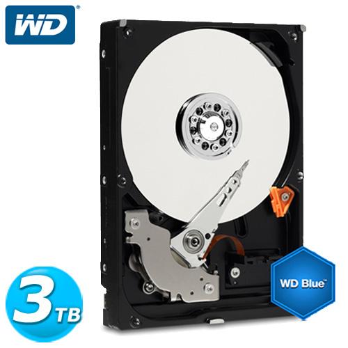 WD 藍標 3.5吋 3TB SATA3 內接硬碟(WD30EZRZ)