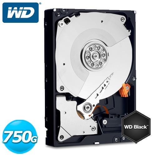 WD 黑標 2.5吋 750GB SATA3 內接硬碟 WD7500BPKX