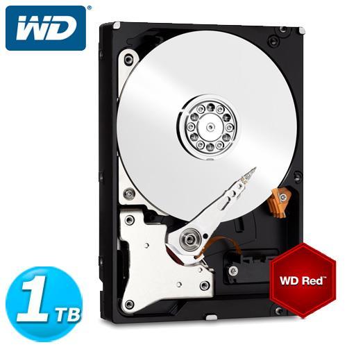 WD 紅標 3.5吋 1TB SATA3 NAS專用內接硬碟 10EFRX