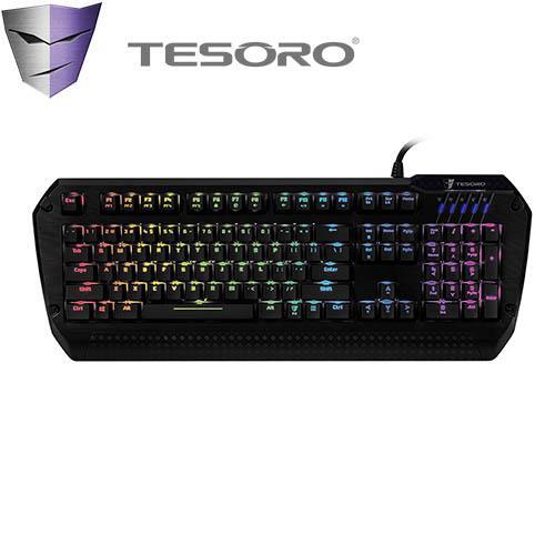 TESORO LOBERA羅貝拉劍幻彩版機械式鍵盤 紅軸中文RGB