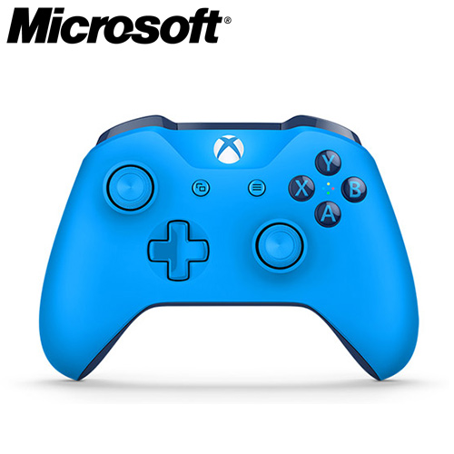Microsoft 微軟 Xbox One 特別版無線控制器 藍