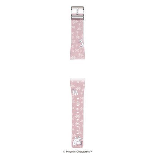 EPSON Smart Canvas Moomin錶帶-粉紅花田