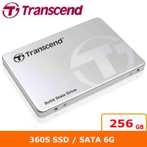 創見 2.5吋 360S 256G SATA3 SSD 固態硬碟
