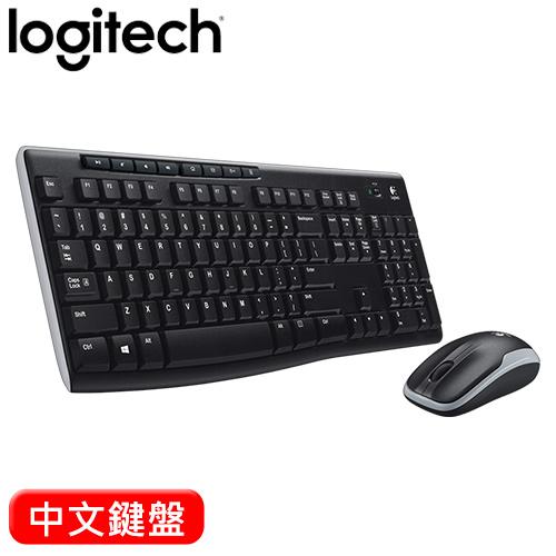 Logitech 羅技 MK270R 無線滑鼠鍵盤組