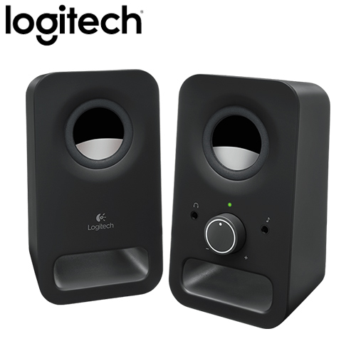 Logitech 羅技 Z150 2.0聲道多媒體揚聲器 黑