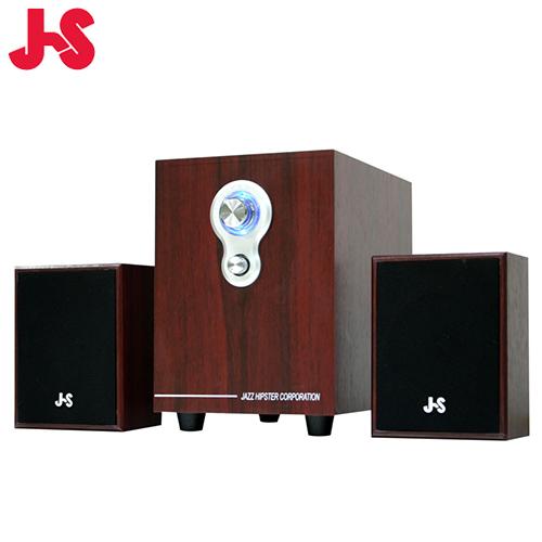 JS 淇譽 JY3080 2.1 聲道全木質多媒體喇叭