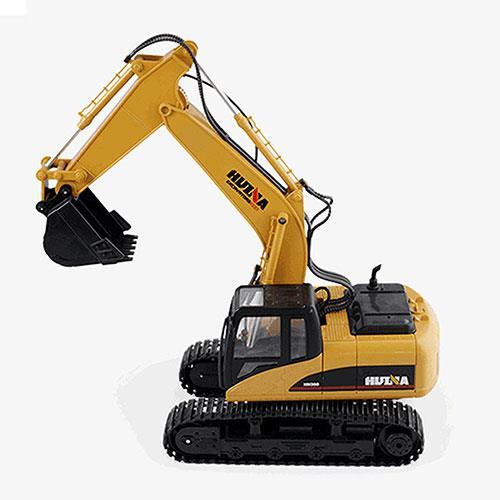 15通道2.4G遙控挖掘機超大推土機挖土機電動無線兒童玩具遙控車工程車