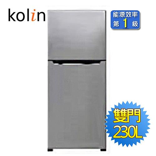 Kolin歌林230L雙門電冰箱KR-223S01