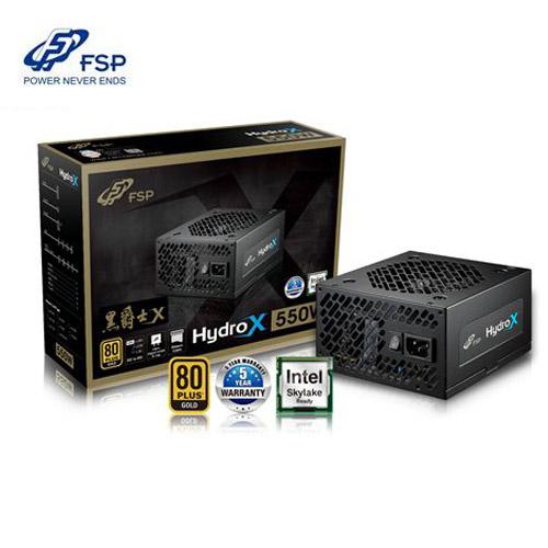全漢 黑爵士X 550W 80PLUS金牌 電源供應器