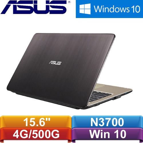 ASUS華碩 X540SA-0021AN3700 15.6吋筆記型電腦 黑