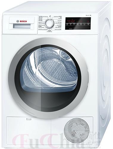 【甫佳電器】-【BOSCH】冷凝式乾衣機 8公斤(歐規) WTG86401TC