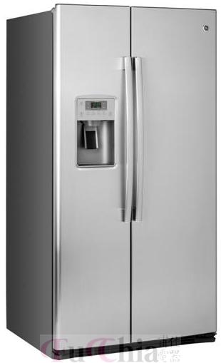 【甫佳電器】- 美國 GE 奇異 對開冰箱 GSE25HSSS / GSE25HSHSS