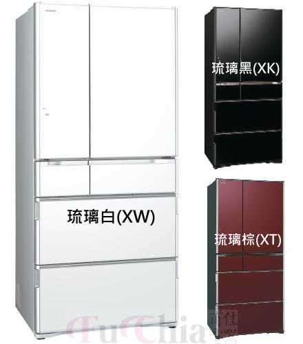 【甫佳電器】-日立 日本原裝 六門冰箱 676L RG680GJ (原RG670GJ)