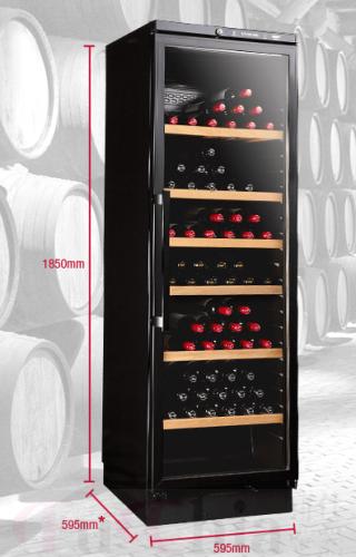 【甫佳電器】- VINTEC V160SGB 單溫 獨立式 酒櫃