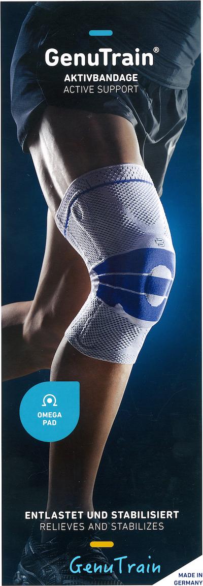 Bauerfeind GenuTrain 德國包爾泛 (一般型護膝)黑藍色