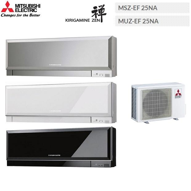 MITSUBISHI三菱 (霧之峰‧禪) MSZ-EF25NA/MUZ-EF25NA 美型空調 一對一分離式冷氣3-4坪