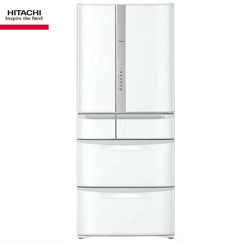 (請來電洽詢優惠價) HITACHI日立冰箱 RSF62J 六門琉璃 615公升 星燦白