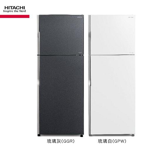 (請來電洽詢最優惠現金價) HITACHI日立冰箱 RG439 兩門琉璃 414公升【優惠價格8/20-9/20】