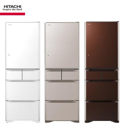 (請來電洽詢最優惠現金價) HITACHI 日立冰箱 RG500GJ 日本原裝五門 501公升(琉璃)【優惠價格6/20-7/20】