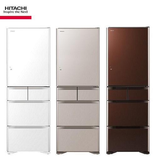 HITACHI 日立冰箱 RG500GJ 日本原裝五門 501公升(琉璃)