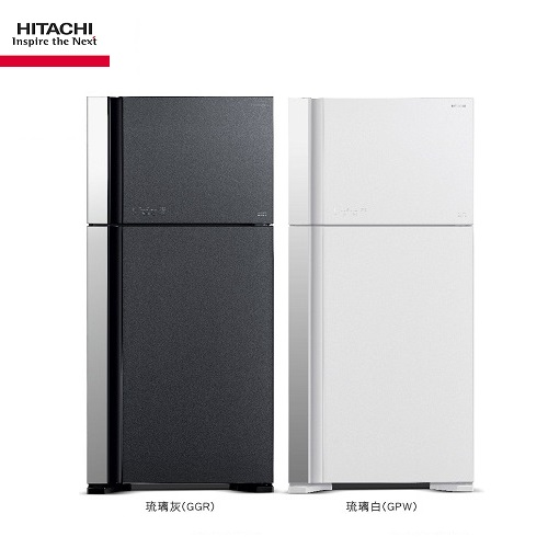 HITACHI日立冰箱 RG599 兩門琉璃 570公升