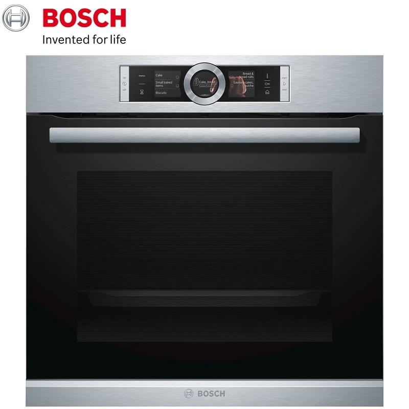 BOSCH 博世 複合式蒸氣烤箱 HRG6769S2B 《產地:德國》71L歐規220V