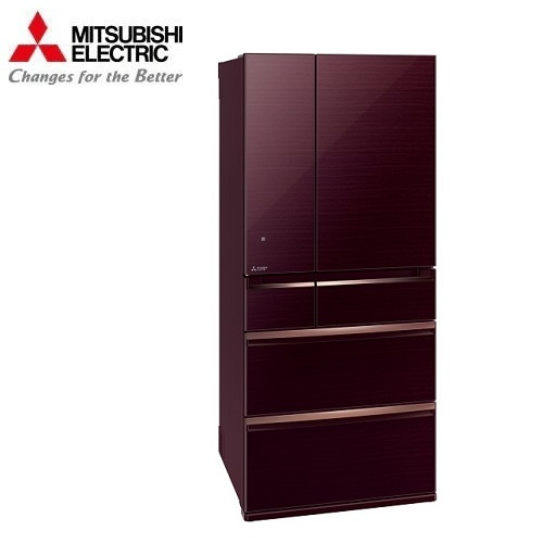 MITSUBISHI 三菱冰箱 MR-WX71Y 日本原裝 玻璃鏡面旗艦系列電冰箱 705L水晶棕