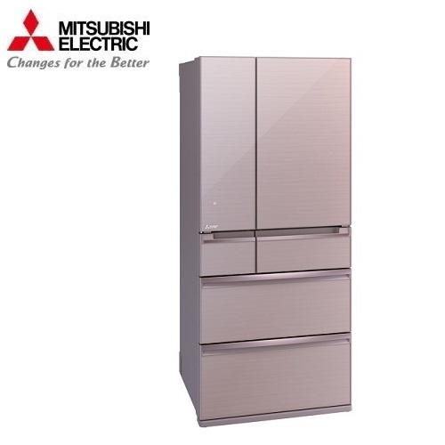 MITSUBISHI 三菱冰箱 MR-WX71Y 日本原裝 玻璃鏡面旗艦系列電冰箱 705L水晶粉