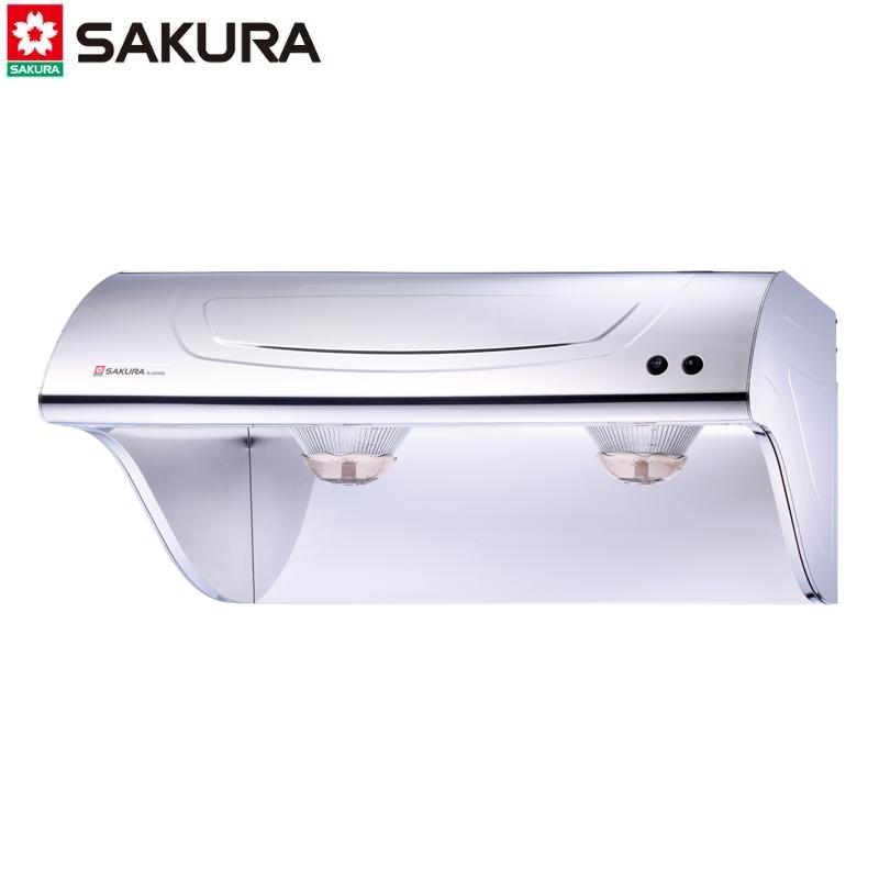 SAKURA櫻花牌 斜背式排油煙機 R-3250SL 雙渦輪馬達80CM 不鏽鋼