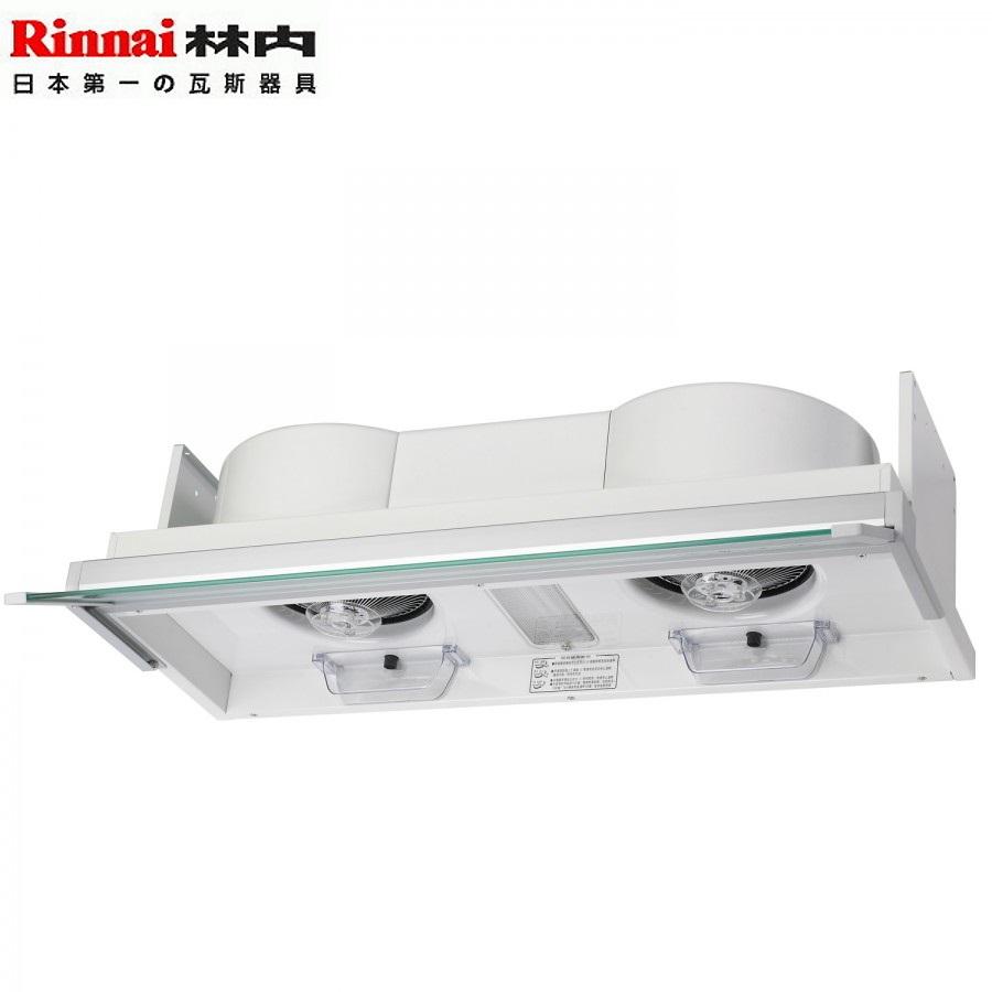 Rinnai 林內 RH-8170 全隱藏式排油煙機 白色烤漆 80cm