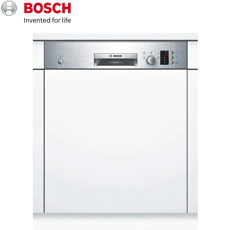 BOSCH 博世 半嵌式洗碗機(須嵌門板) 13人份 SMI53E15TC 德國原裝進口110V