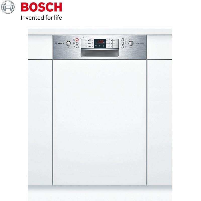 BOSCH 博世 半嵌式洗碗機(須嵌門板) 10人份 SPI68M05TW 德國原裝進口220V