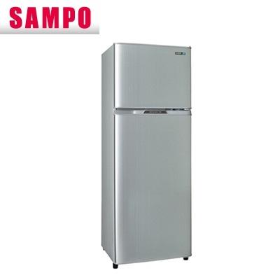 【現金價】聲寶SAMPO冰箱 SR-L25G 二門 250公升 璀璨銀色