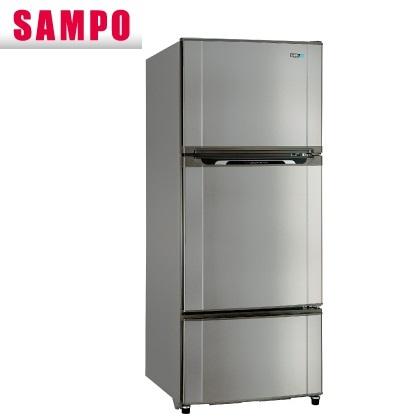 【現金價】聲寶SAMPO冰箱 SR-M58GV 三門 580公升 定頻 不鏽鋼色
