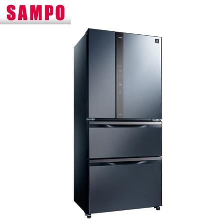 【現金價】聲寶SAMPO冰箱 SR-NW56DD 四門 560公升 變頻 尊爵藍色