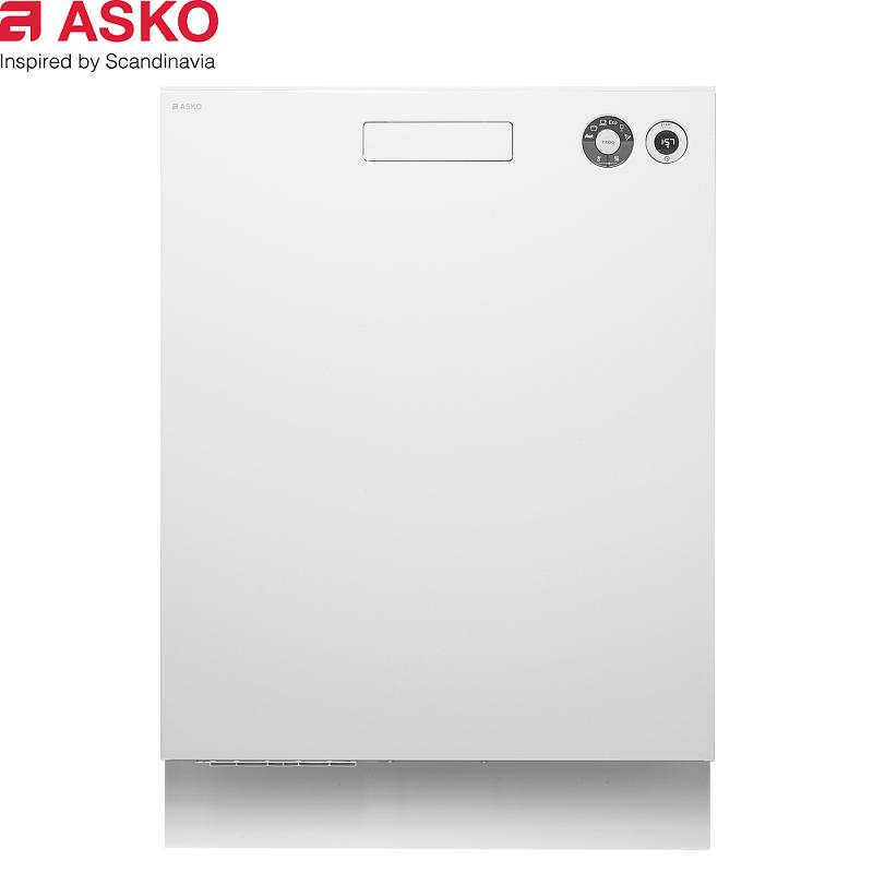 ASKO 瑞典賽寧 嵌入式 D5436 BI 經典款洗碗機 白色15人份