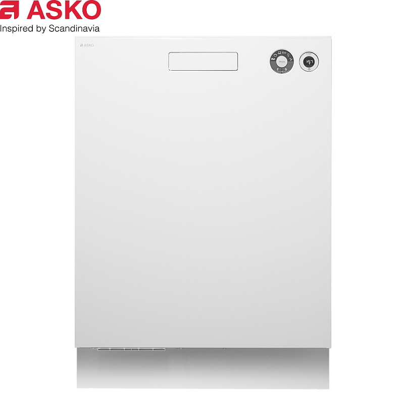 ASKO 瑞典賽寧 嵌入式 D5436CB 經典款洗碗機 白色15人份