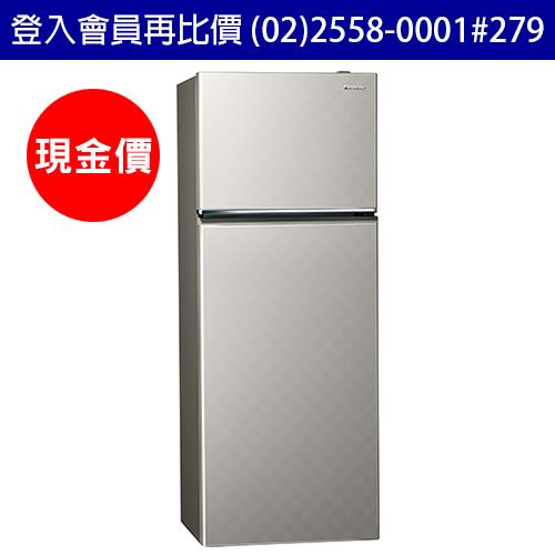 國際牌Panasonic冰箱 NR-B409TV 二門 393公升 變頻 省電新1級 銀河灰色 (台灣松下簽約經銷商)