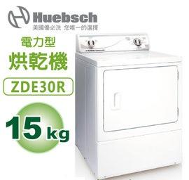 Huebsch美國優必洗 ZDE30R 直立式電力型15KG烘乾機 【含運費 基本安裝 舊機回收】