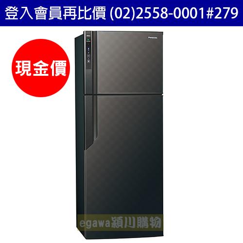 國際牌Panasonic冰箱 NR-B489GV 二門 485公升 變頻 節能新1級 星空黑色 (台灣松下簽約經銷商)