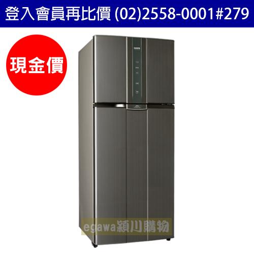 【現金價】聲寶SAMPO冰箱 SR-A58D 變頻二門 580公升 漸層銀 (聲寶經銷商)