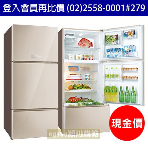 【現金價】三洋SANLUX冰箱 SR-C580CVG 能效1級 變頻玻璃三門 580公升 (台灣三洋經銷商)