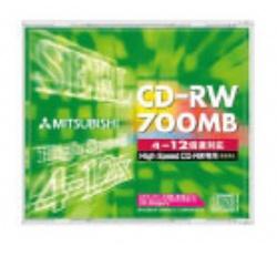 三菱 12X CD-RW 80分 單片裝