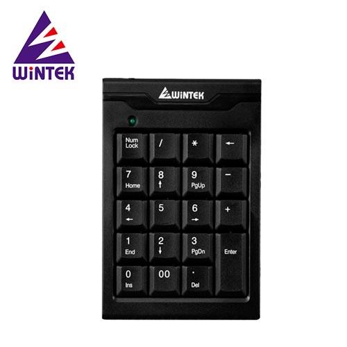 WiNTEK 文鎧 TK70-2 USB超薄數字鍵盤