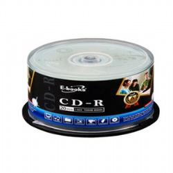 E-BOOKS國際版52X CD-R 20片桶