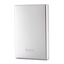 DOOCOO isimple 8000mAh 鋁合金行動電源 銀