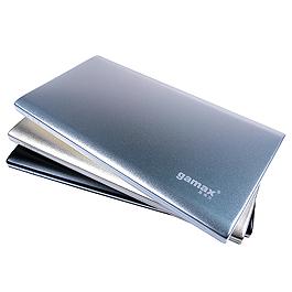 GAMAX 嘉瑪仕 7000mah 鋰聚合物行動電源 銀
