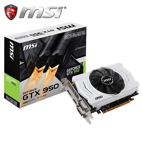msi 微星 GTX 950 2GD5 OC 顯示卡【展示良品】