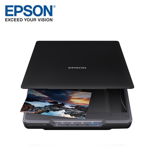 EPSON 愛普生 Perfection V39 輕薄照片/書本掃描器